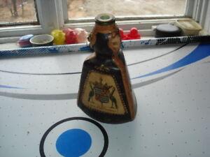vieille bouteille en bois