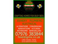 All Building, Joinery, Electrical & Plumbing Installations, Bespoke odd jobs in and around Derby