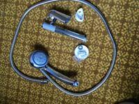Shower hose & 5 way head