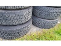 4 x Goodyear Wrangler tyres - 275 60 20. 6.3mm, 5.6mm, 4.7mm and 4.6mm. For Sale