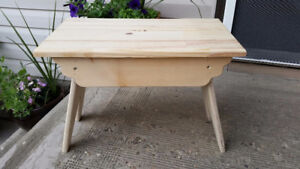 Handmade Wooden Bench for Customising