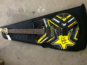 Brand New Rockstar Energy Sterling AX20 Electric Guitar