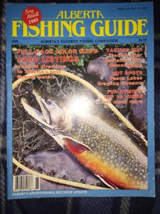 Fishing & Golf Magazines All 1980's