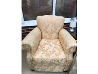 Two seater sofa And Two armchairs for sale