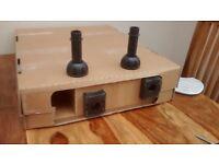 5 bottle 150 mm base unit Malton Oak