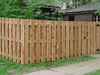 Residential fencing, retaining walls, painting