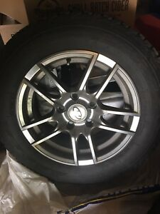 Studded Winter Tires  on rims 195/65/15 Hyundai Elantra