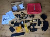 Micro scalextric loop set with carry case