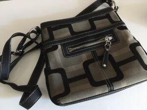 sac Nine West gris/noir