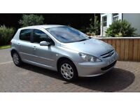 Peugeot 307 1.4 Zest cheap runabout with full years mot