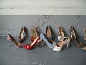 New and lightly worn women's size 6/6.5 shoes