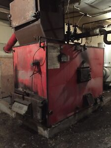 For Sale : Wood Chip/Coal Boiler
