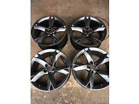 Audi 19 inch Y spoke alloys