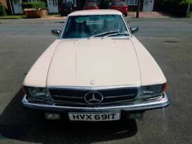 CLASSIC MERCEDES SLC450 v RARE CHEAPEST IN WORLD SUPERB DRIVE&COND OLD IS GOLD£7999