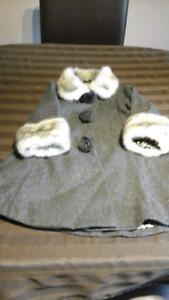 Girls   dressy winter   coat