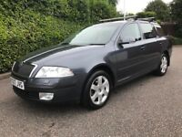 2007 skoda octavia 1.9 tdi DSG AUTOMATIC elegance model LOW MILEAGE 75k a4 avant estate