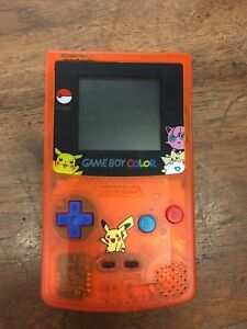 Pokemon Gameboy Color System