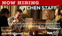 Kitchen Help Wanted - Cook, Line Cook & Prep Cook