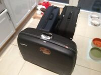 Delsey suitcase and 1 Equator suitcase plus another one