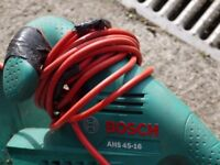 Bosch electric mains hedge trimmer