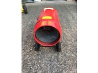 2 x Propane portable industrial blow fan heater just £65 Reduced again!!