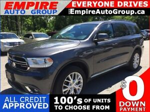 2016 DODGE DURANGO LIMITED * AWD * 1 OWNER * 2 DVD * LEATHER * N
