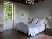 King size French style bed