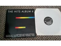 The hits album 6 vinyl including Bruce Willis, madonna, starship, george michael, fleetwood mac
