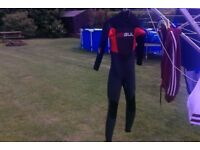 Gul wet suit 5/3mm (for scottish lochs) medium youths, Used in very good condition