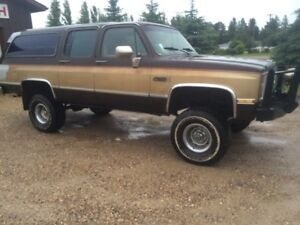 Lifted 85 Suburban