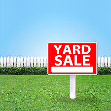 Yard sale 405 Parkway Drive 9 to 3 Saturday Aug 5