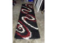 Shaggy runner rug