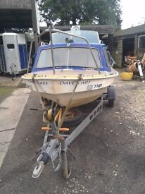 Fishing /day boat and trailer