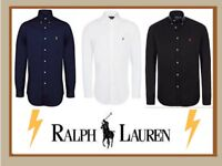 Ralph Lauren Men's Slim Fit Shirts S-XL