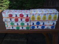 60W BC x 40 bulbs, OSRAM MAKE ( 10 x red , 10 x blue, 10 x green , 10 x yellow )