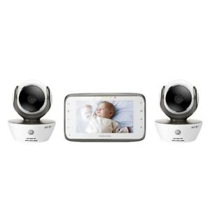 Motorola MBP854CONNECT WiFi Video Baby Monitor with Dual Cameras