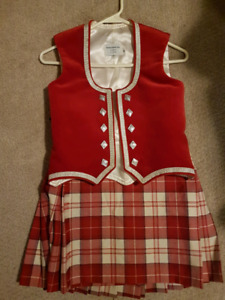 Highland dance outfit size 10