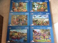 Jigsaw puzzles 500XL pieces