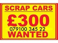 07910034522 SELL YOUR CAR 4x4 FOR CASH BUY MY SCRAP MOTORCYCLE W