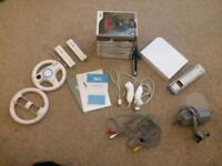 Nintendo Wii Console and controllers only