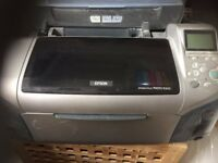 Epson R265 and R300 printers spares or repairs not used for a while with some spare ink cartridges