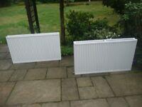 X2 Radiators 2 panel 120x70cm Used Excellent condition