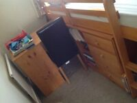 Pine Bunkbed with lots of storage