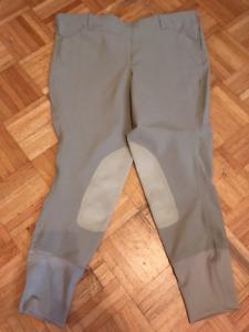 Elation Side Zip Breeches size 36