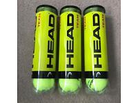 12 HEAD Team tennis balls