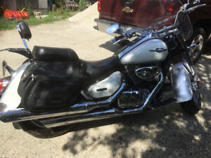 Motorcycle with low kms for sale