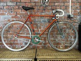 Elswick single steel frame single speed/fixed gear bicycle [refurbished]