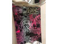 RIDE Rapture Snowboard + RIDE VXN bindings + DAKINE padded board bag