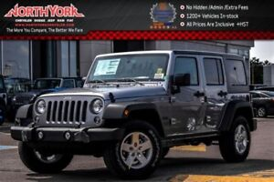 2017 Jeep WRANGLER UNLIMITED New Car Sport|4x4|Connect,PwrConven