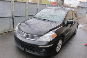 2009 Nissan Versa SL, TOIT, Bluetooth, Demareur, Cruise Control